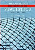 The Cambridge Dictionary of Statistics, Everitt, B. S., 0521860393