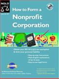 How to Form a Nonprofit Corporation, Anthony Mancuso, 1413300391
