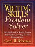 Writing Skills Problem Solver, Carol H. Behrman, 0130600393