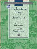 The Mark Hayes Vocal Solo Collection -- 10 Christmas Songs for Solo Voice, Mark Hayes, 073900039X