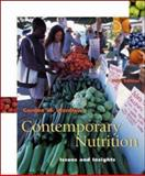 Contemporary Nutrition : Issues and Insights with Food Wise, Wardlaw, Gordon M., 0072560398