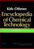 Kirk-Othmer Encyclopedia of Chemical Technology Vol. 4 : Bearing Materials to Carbon, Kirk-Othmer, 0471020400