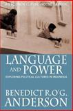 Language and Power, Anderson, Benedict, 9793780401