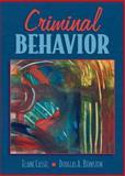 Criminal Behavior, Cassel, Elaine and Bernstein, Douglas A., 0205280404