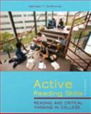 Active Reading Skills : Reading and Critical Thinking in College, McWhorter, Kathleen T. and Sember, Brette M., 0321850408
