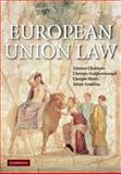 European Union Law : Text and Materials, Chalmers, Damian and Maduro, Miguel Poiares, 0521820413