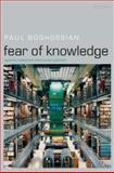 Fear of Knowledge 1st Edition