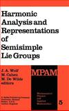 Harmonic Analysis and Representations of Semisimple Lie Groups, , 9027710422