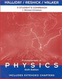 Fundamentals of Physics : Extended Chapters 1-45, a Student's Companion, Halliday, David and Resnick, Robert, 0471360422