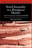 Social Inequality in a Portuguese Hamlet : Land, Late Marriage, and Bastardy, 1870-1978, O'Neill, Brian Juan, 0521040426