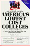 America's Lowest Cost Colleges, Nicholas A. Roes, 0897800427