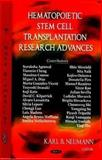 Hematopoietic Stem Cell Transplantation Research Advances, , 1604560428