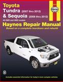 Toyota Tundra and Sequoia Automotive Repair Manual, Editors of Haynes Manuals, 1620920425