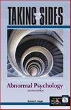 Taking Sides : Clashing Views on Controversial Issues in Abnormal Psychology, Halgin, Richard P., 0072480424