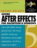 After Effects 5. 0 for Macintosh and Windows, Antony Bolante, 0201750430