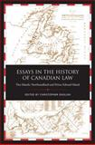 Essays in the History of Canadian Law : Two Islands, Newfoundland and Prince Edward Island, , 0802090435