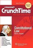 Constitutional Law Crunchtime 2010, Emanuel, Steven, 0735590435