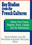 Gay Studies from the French Cultures : Voices from France, Belgium, Brazil, Canada and the Netherlands, Mendes-Leite, Rommel and De Busscher, P.O, 1560230436