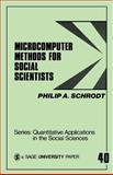 Microcomputer Methods for Social Scientists, Schrodt, Philip A., 0803930437