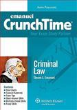 Criminal Law Crunchtime 2010, Emanuel, Steven, 0735590443