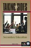 Taking Sides Secondary Education, , 0072480440