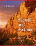 Signals and Systems : Analysis of Signals Through Linear Systems, Roberts, M. J., 0072930446