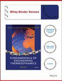 Fundamentals of Engineering Thermodynamics, Michael J. Moran, 1118820444