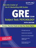 Kaplan GRE Subject Test: Psychology, Kaplan, 1419550446
