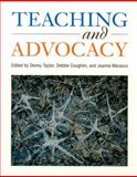 Teaching and Advocacy, , 1571100458