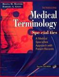 Package of Medical Terminology Specialties: a Medical Specialties Approach with Patient Records with Taber's Cyclopedic Medical Dictionary, 19th Edition, , 0803610459