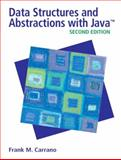 Data Structures and Abstractions with Java, Carrano, Frank and Savitch, Walter, 013237045X