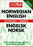 Berlitz Norwegian-English Dictionary 9782831550459