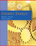 Greater Essays, Folse, Keith S. and Pugh, Tison, 0618260463