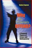 Why Do Criminals Offend? : A General Theory of Crime and Delinquency, Agnew, Robert, 0195330463