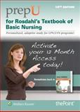 PrepU for Rosdahl's Textbook of Basic Nursing, Rosdahl, Caroline, 1451170467