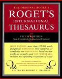 Roget International Thesaurus : 5E Plain, Robert L. Chapman, 0062700464