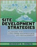 Site Development Strategies, Rinck, Robert, 0071470468