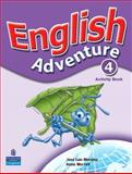 English Adventure 4, Pearson, 0131110470