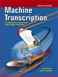 Machine Transcription Complete Course, Mitchell, Carol A., 007729047X