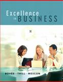Excellence in Business, Thill, John V. and Mescon, Michael H., 0131870475