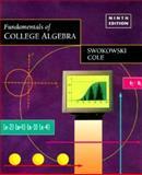 Fundamentals of College Algebra, Swokowski, Earl William and Cole, Jeffrey A., 0534950477