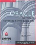 Oracle Developer Advanced Forms and Reports, Dorsey, Paul and Koletzke, Peter, 0072120487