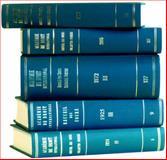 Recueil des Cours, 1989-IV, Académie de Droit International de la Ha Staff, 0792310489