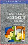 Counselling in Independent Practice, Syme, Gabrielle, 0335190499