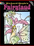 Fairyland Stained Glass Coloring Book, Richard Doyle and Marty Noble, 0486430499