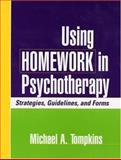 Using Homework in Psychotherapy 1st Edition