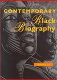 Contemporary Black Biography 9780787660499