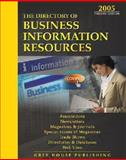 The Directory of Business Information Resources 2005, , 1592370500