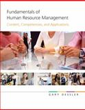 Fundamentals of Human Resource Management, Dessler, Gary, 0136050506