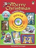 Merry Christmas CD-ROM and Book, Dover Publications Inc, 0486990508